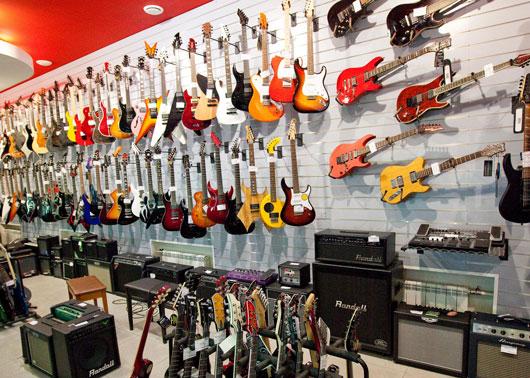 Как открыть магазин музыкального оборудования
