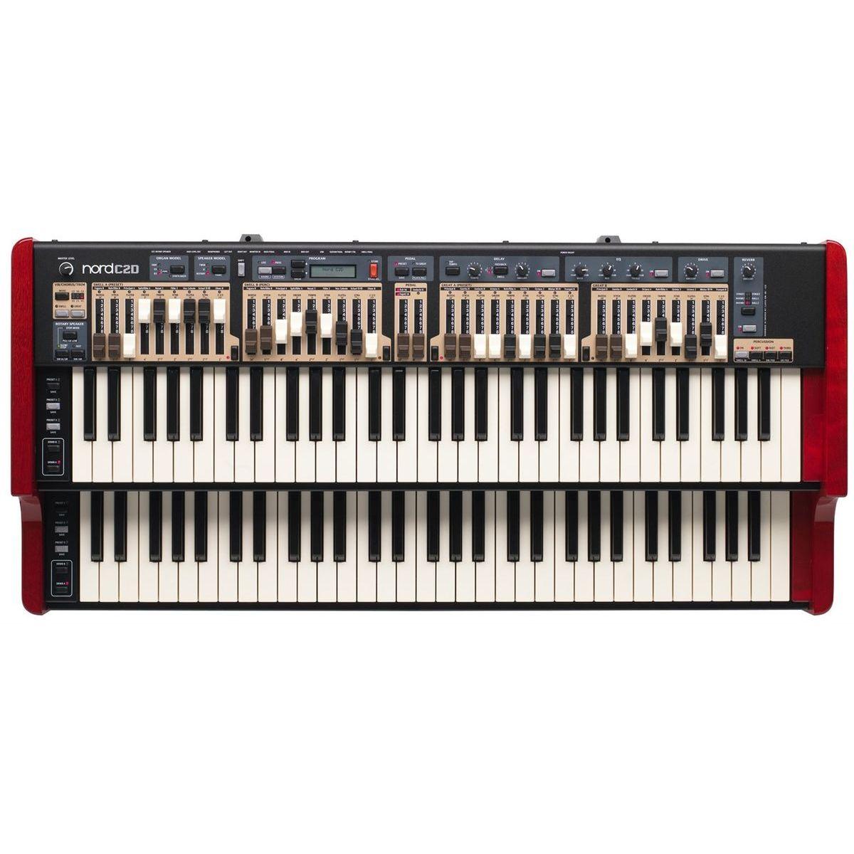 Цифровой орган Clavia Nord C2D Combo Organ