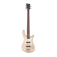 Warwick STREAMER CV 5 Natural Satin