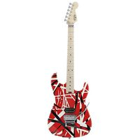 Электрогитара EVH Stripe Series Red With Black & White Stripes