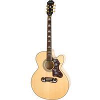 Электроакустическая гитара Epiphone EJ-200SCE Natural Gold Hardware