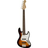 5-струнная бас-гитара Squier Affinity Jazz Bass V RW Brown Sunburst