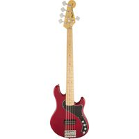 5-струнная бас-гитара Squier Deluxe Dimension Bass V MN Crimson Red Transparent