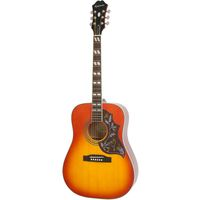 Epiphone Hummingbird Pro Acoustic/ Electric With Shadow Faded Cherry Burst