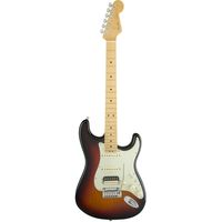 Электрогитара Fender American Elite Stratocaster HSS Shawbucker MN 3-Color Sunburst