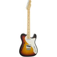 Электрогитара Fender American Elite Telecaster Thinline MN 3-Color Sunburst