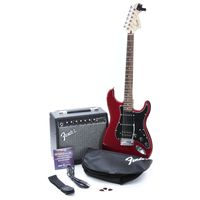 Комплект с электрогитарой Squier Affinity Series Strat HSS & Champion 20 Candy Apple Red