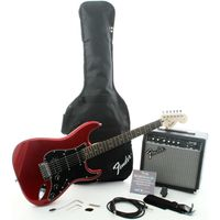 Комплект с электрогитарой Squier Affinity Strat HSS & Frontman 15G Amp Candy Apple Red