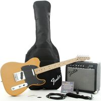 Комплект с электрогитарой Squier Affinity Tele & Frontman 15G Butterscotch Blonde