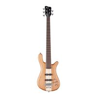 5-струнная бас-гитара Warwick STREAMER STAGE I 5 Natural Satin