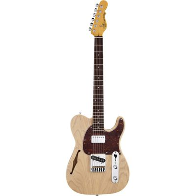 Электрогитара G&L Tribute ASAT® Classic Bluesboy Semi-Hollow Natural Ash MP