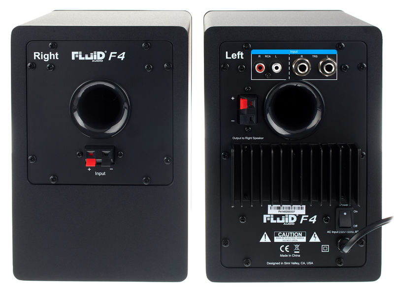 Fluid Audio Fader F4